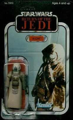 "Star Wars 3 3/4"" Basic Action Figures (Vintage) 4-LOM (ROTJ) by Kenner"