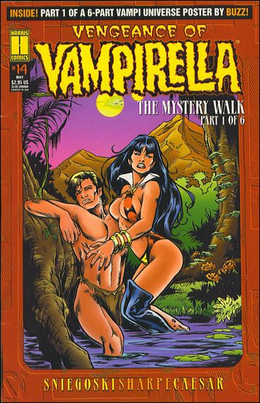 Vengeance of Vampirella 14-A by Harris