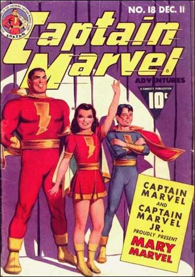 Captain Marvel Adventures 18-A by Fawcett