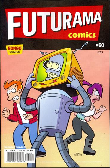 Futurama Comics 60-A by Bongo