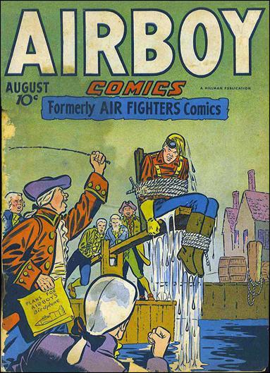 Airboy Comics (1946) 7-A by Hillman