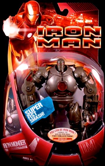 Iron Man (Movie) Iron Monger (Red Chestplate) by Hasbro
