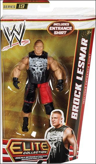 WWE: Elite Collection (Series 19) Brock Lesnar by Mattel