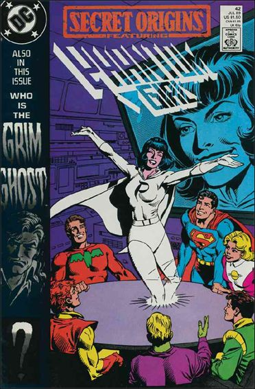 Secret Origins (1986) 42-A by DC