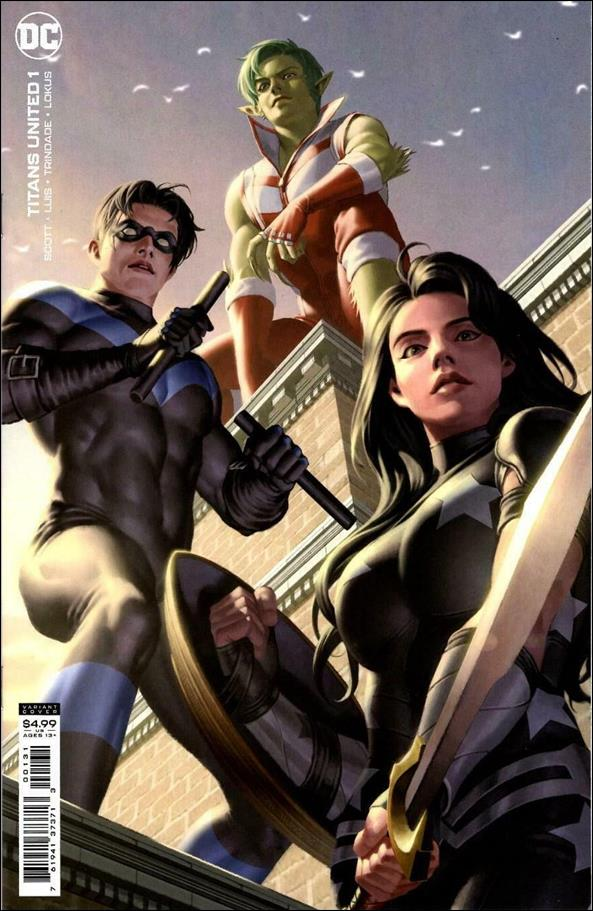 Titans United 1-C by DC