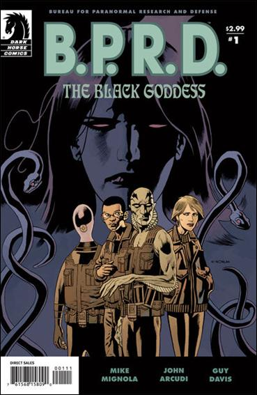 B.P.R.D.: The Black Goddess 1-A by Dark Horse