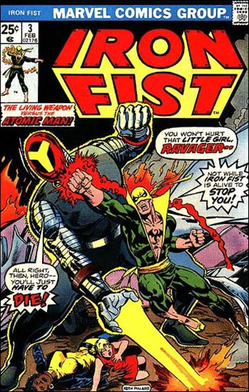 Iron Fist (1975) 3-A by Marvel