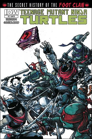 Teenage Mutant Ninja Turtles: The Secret History of the Foot Clan 3-B by IDW