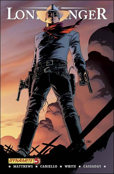 Lone Ranger (2006) 5-A by Dynamite Entertainment
