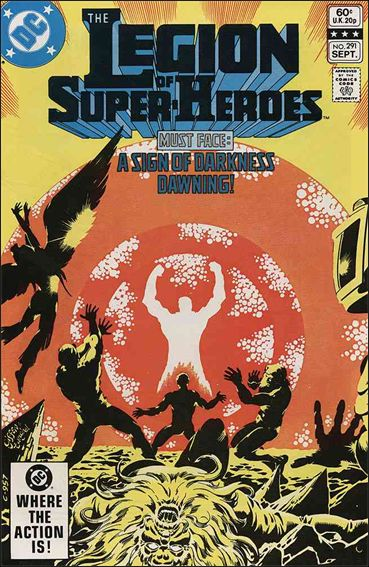 Legion of Super-Heroes (1980) 291-A by DC