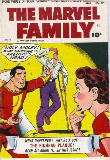 Marvel Family 87-A by Fawcett