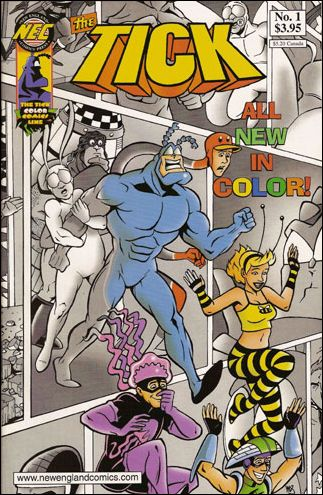 Tick Color 1-A by New England Comics Press (NEC / NECP)