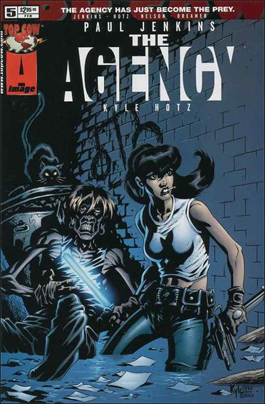 Agency 5-A by Top Cow