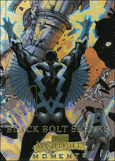 2008 Marvel Masterpieces: Series 3 (Marvel Moments Subset) MM3-A by Fleer