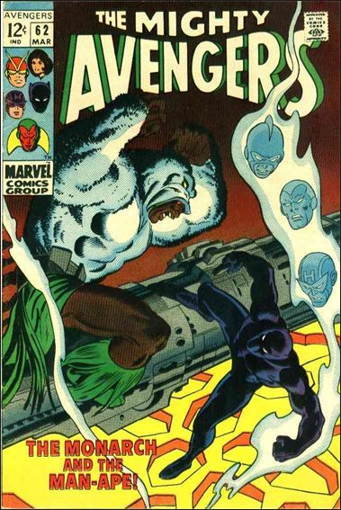 Avengers (1963) 62-A by Marvel