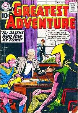 My Greatest Adventure (1955) 58-A by DC
