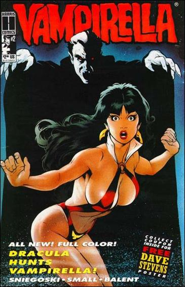 Vampirella (1992) 2-A by Harris