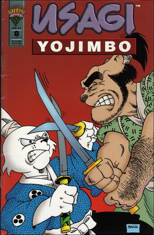 Usagi Yojimbo (1993) 8-A by Mirage