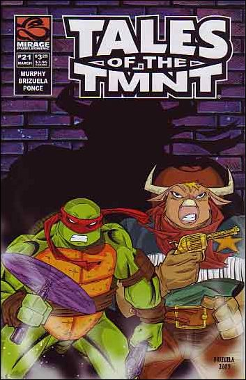 Tales of the TMNT 21-A by Mirage