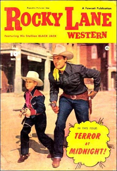 Rocky Lane Western (1949) 40-A by Fawcett
