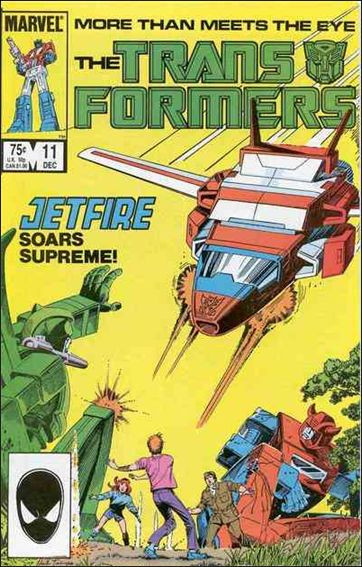 Transformers (1984) 11-A by Marvel