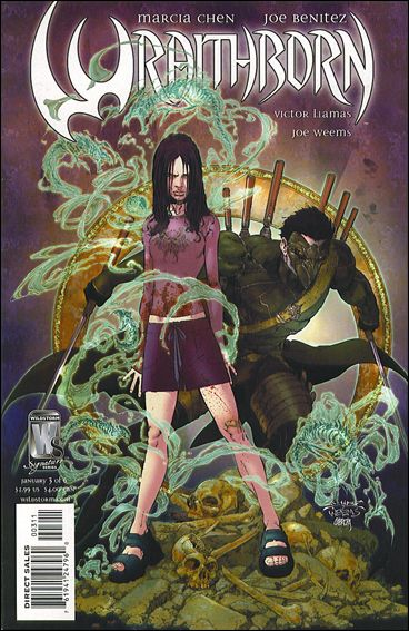 Wraithborn 3-A by WildStorm