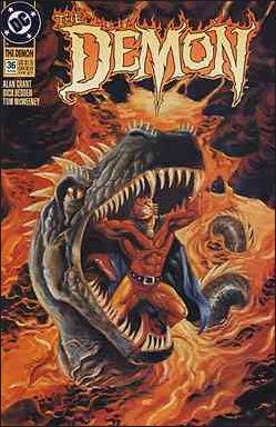 Demon (1990) 36-A by DC
