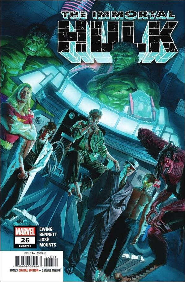 Immortal Hulk 26-A by Marvel