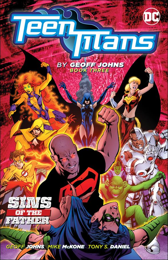 Teen Titans by Geoff Johns 3-A by DC