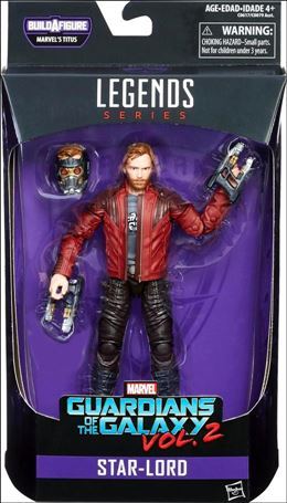 Marvel Legends Series: Guardians of the Galaxy (Titus Series) Star-Lord