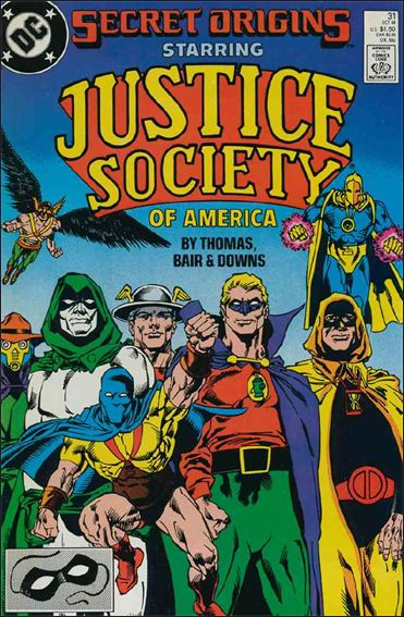 Secret Origins (1986) 31-A by DC