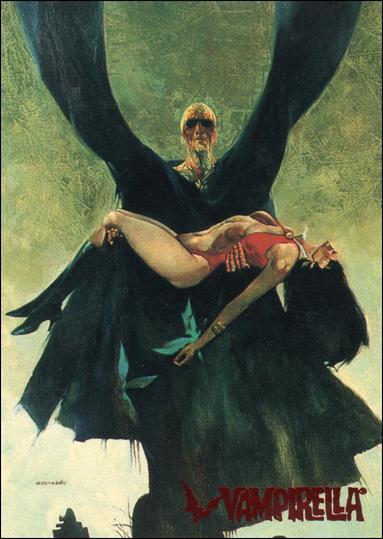 Visions of Vampirella 8-A by Topps