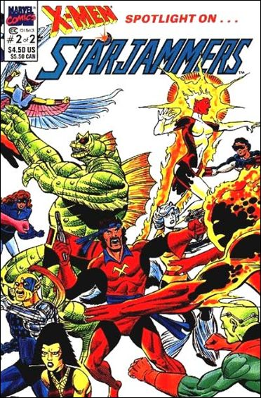 X-Men Spotlight OnStarjammers 2-A by Marvel