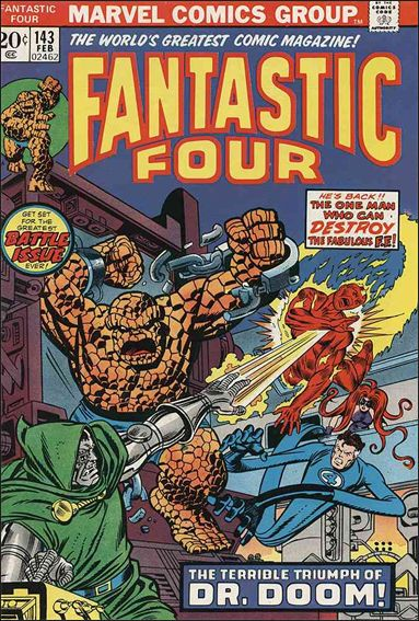 Fantastic Four (1961) 143-A by Marvel