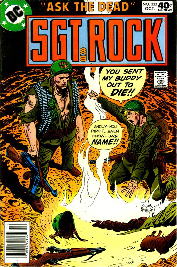 Sgt. Rock (1977) 333-A by DC