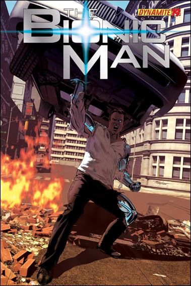 Bionic Man 19-A by Dynamite Entertainment