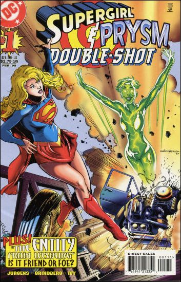 Supergirl/Prysm Double Shot 1-A by DC
