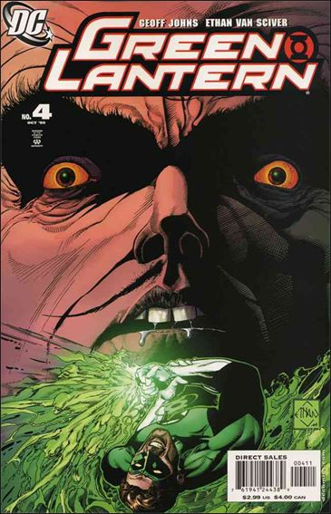 Green Lantern (2005) 4-A by DC