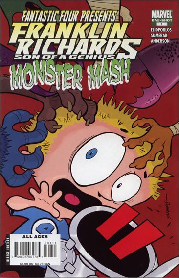 Franklin Richards: Monster Mash 1-A by Marvel
