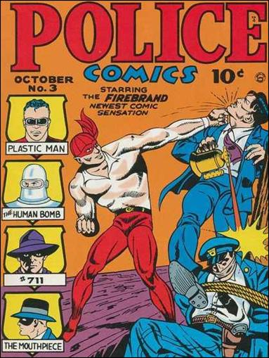 Police Comics 3-A by Comic Magazines