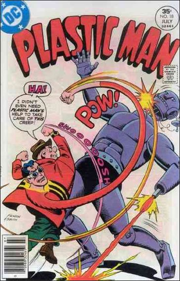 Plastic Man (1966) 18-A by DC
