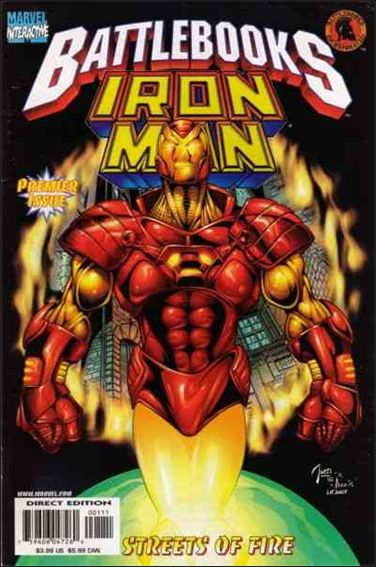 Iron Man Battlebook: Streets of Fire 1-A by Marvel
