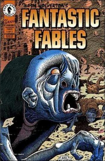 Basil Wolverton's Fantastic Fables 1-A by Dark Horse