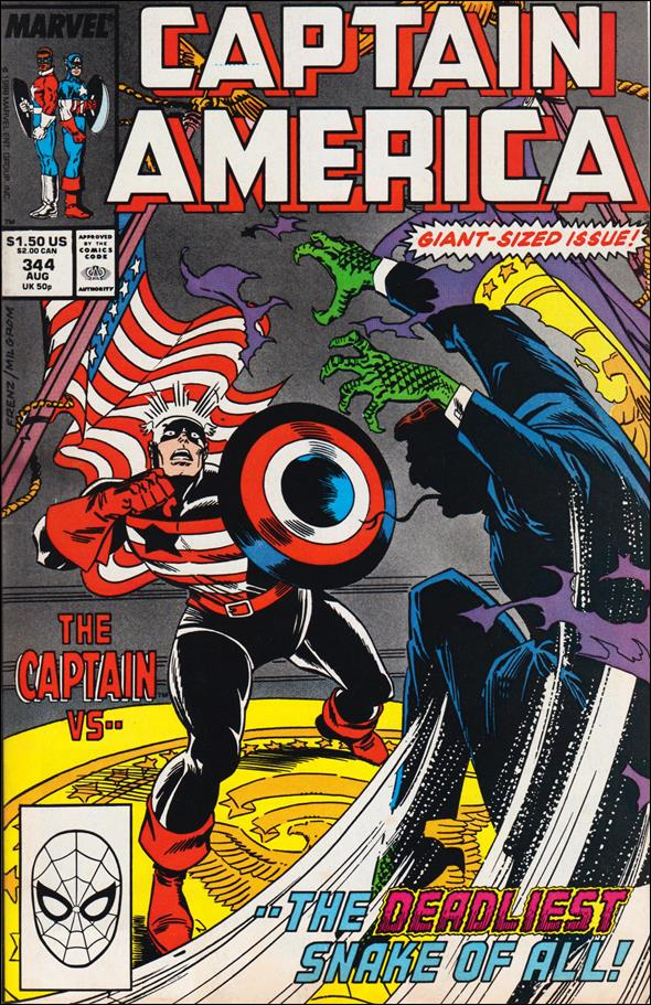 Captain America (1968) 344-A by Marvel