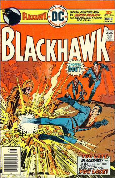Blackhawk (1944) 246-A by DC