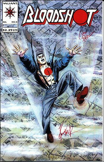 Bloodshot (1993) 6-B by Valiant