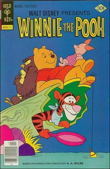 Walt Disney Winnie the Pooh 4-A by Gold Key