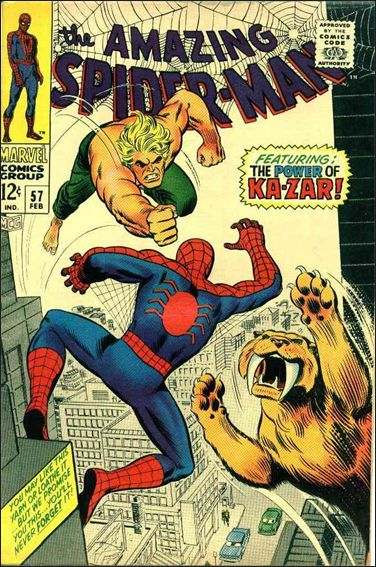 Amazing Spider-Man (1963) 57-A by Marvel