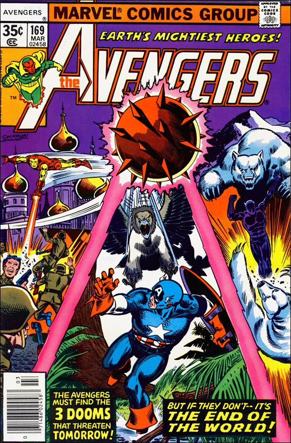 Avengers (1963) 169-A by Marvel