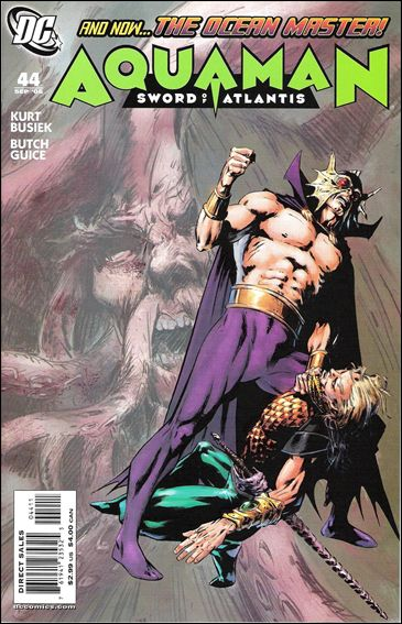 Aquaman: Sword of Atlantis 44-A by DC
